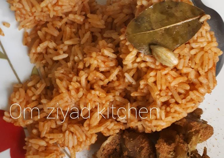How to Prepare Top-Rated Party jollof rice