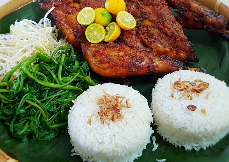 Recipe of Quick AYAM TALIWANG OVEN (GRILLED CHICKEN WITH SPICES)