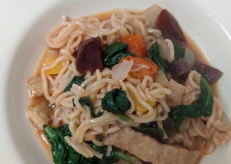 Vegan Makeshift Stir-Fry