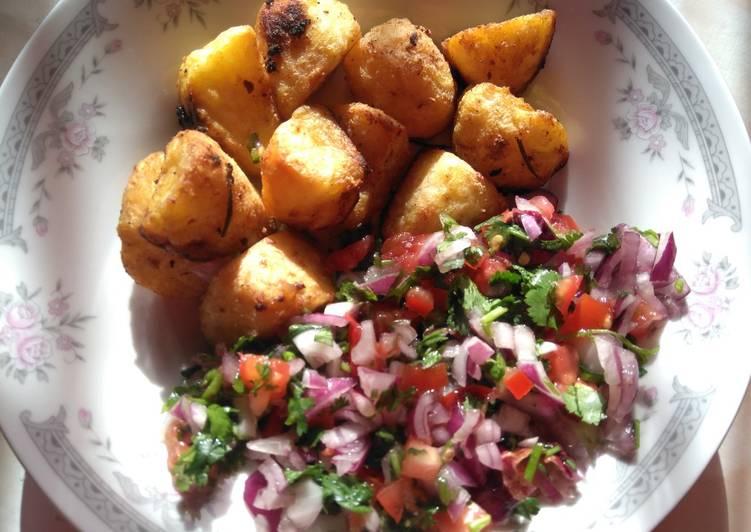 Crispy roasted potatoes #myvalentinesrecipe