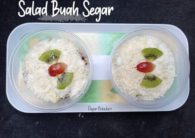 Salad Buah creamy ga gampang berair