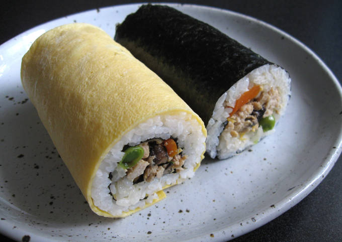 Soboro Sushi Rolls