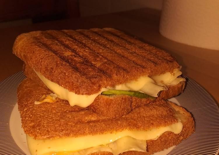 Sándwich vegetariano (cena increíble)