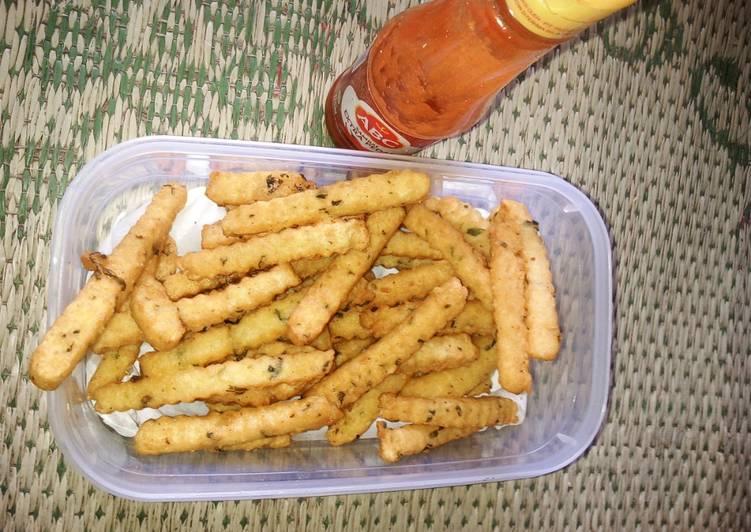 Stik keju kentang