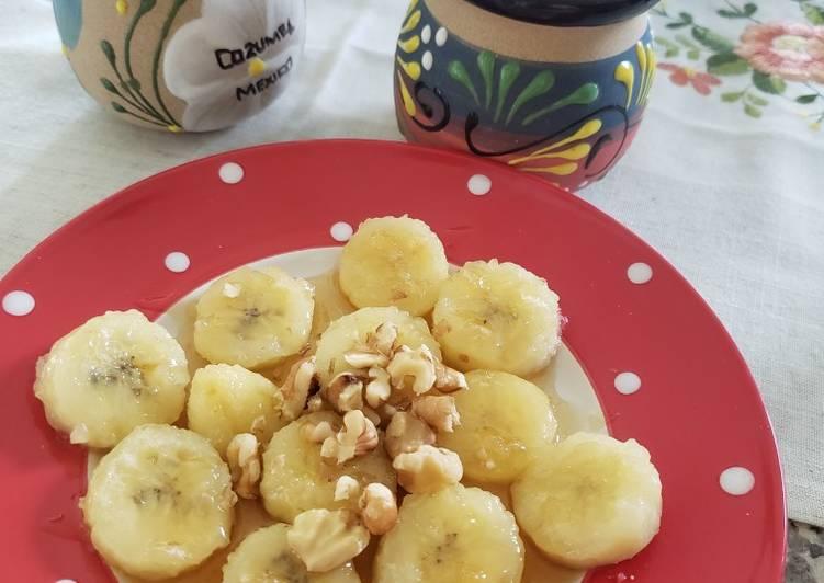 Fry Banana with honey 🍯 🍌