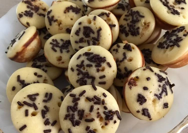 Kue cubit tanpa baking powder