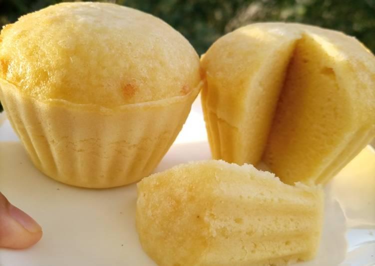 Cara Gampang Menyiapkan Bolu kukus keju simpel banget (no mixer) yang Bisa Manjain Lidah
