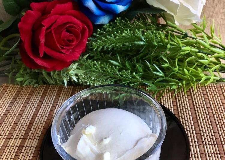 Cream Cheese Homemade Simple dari Yogurt
