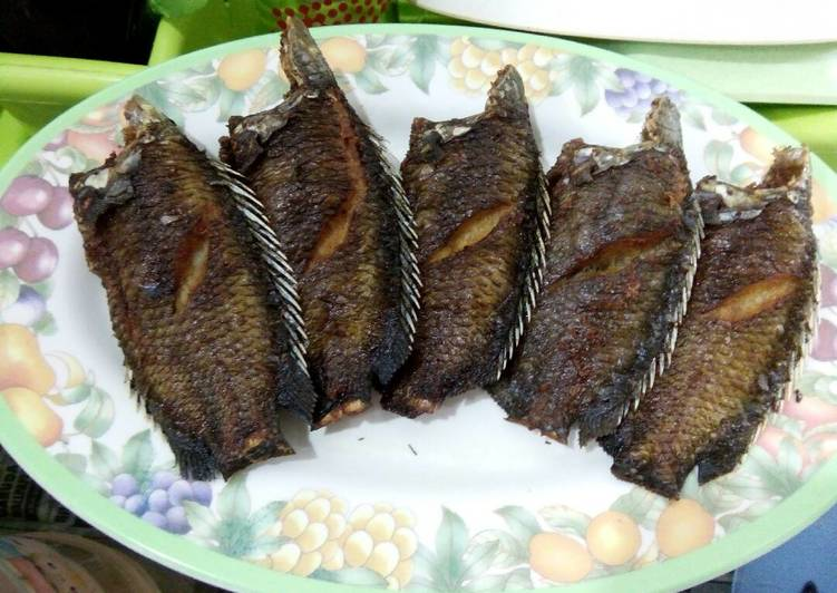Ikan goreng enak