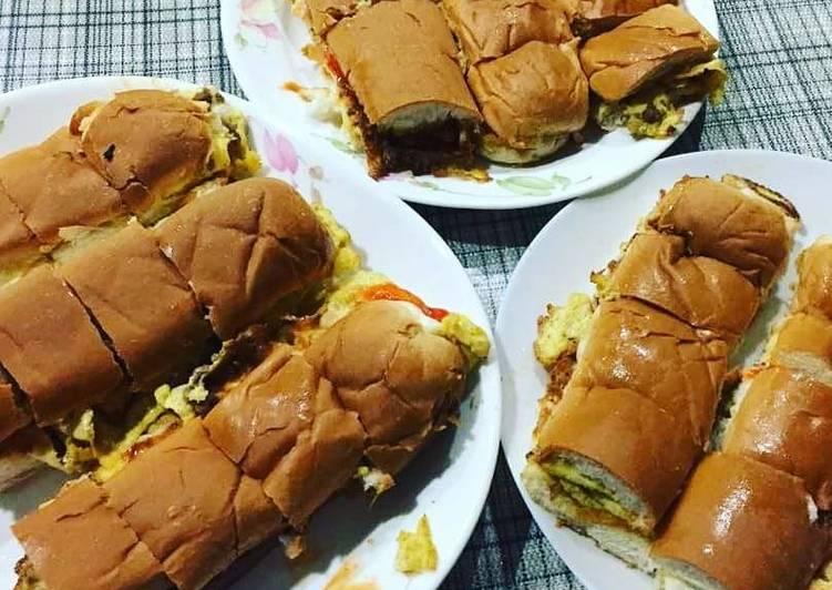 Resepi: Roti John Asli baek punya Tanpa Sayur - Ori bai  Lazat