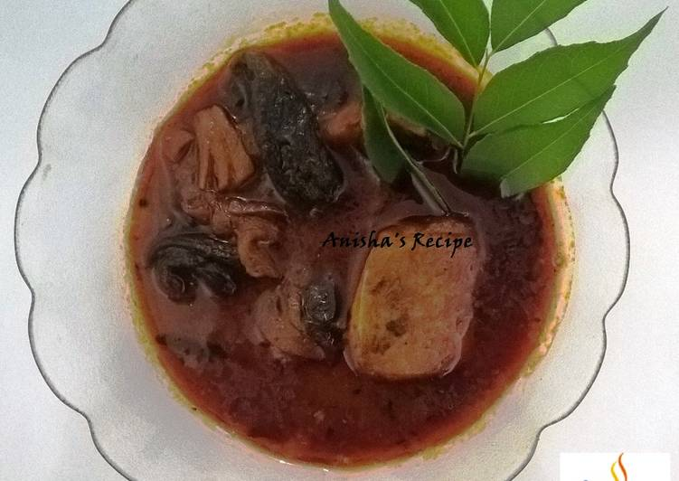 Steps to Prepare Ultimate Mulakitta Meen Curry / Kottayam Style Fish Curry