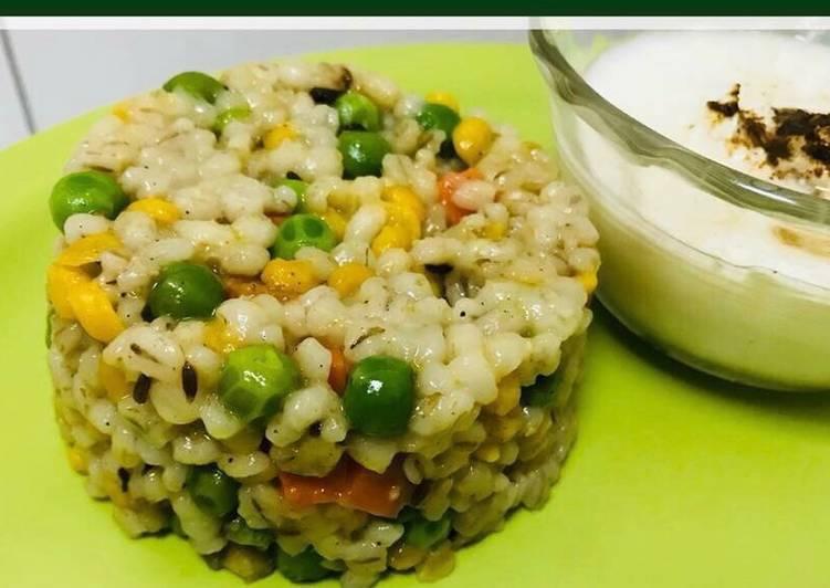 Easiest Way to Make Any-night-of-the-week Barley khichadi