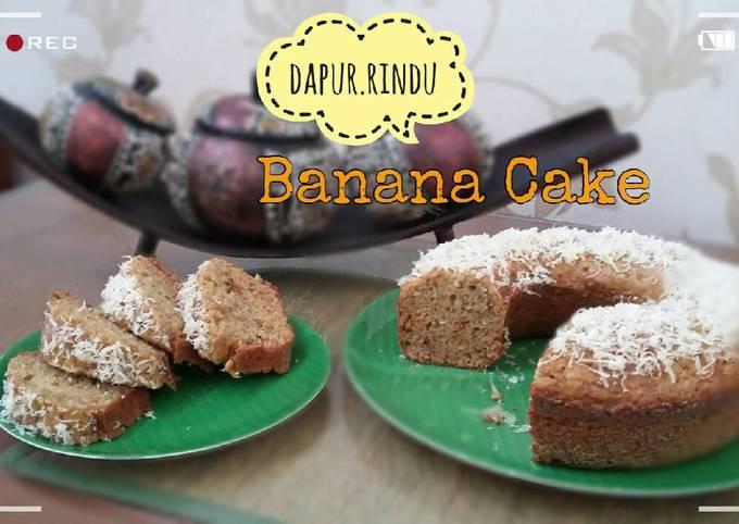 Banana Cake (resep Farah Quinn)