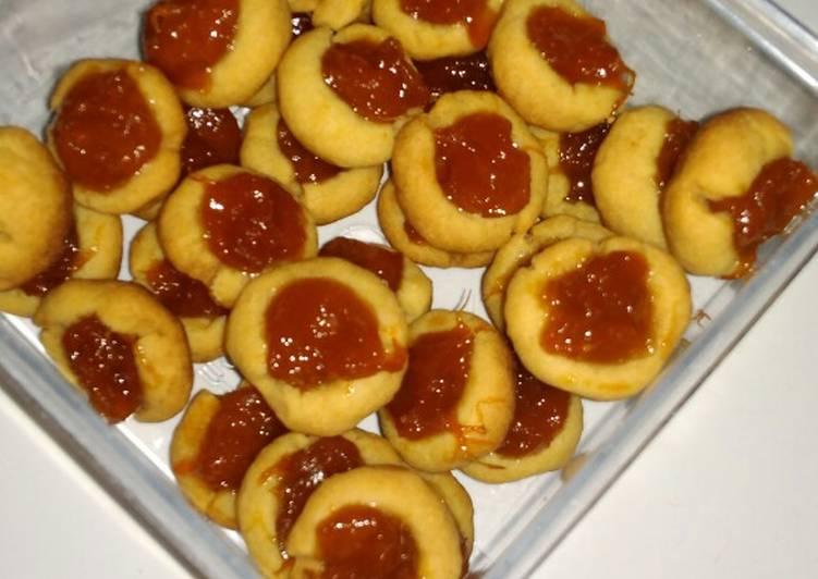 Nastar mangga (takaran sendok, no mixer, oven tangkring)