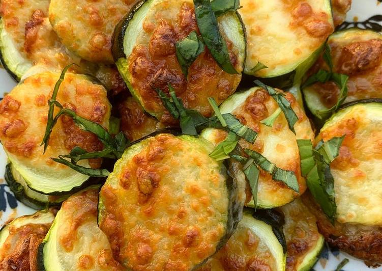 Courgettes à la mozzarella et basilic 🇮🇹
