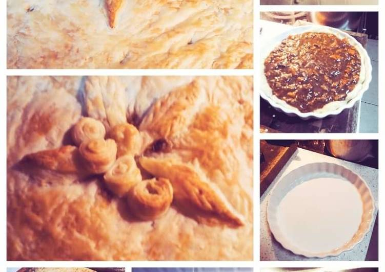 Steps to Make Super Quick Homemade Steak and kidney pie