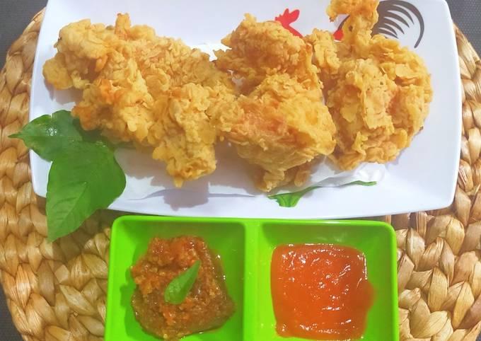 Ayam KFC KW Super Crispy