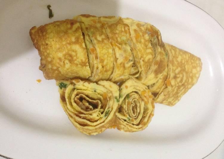 Omlet telur sayur