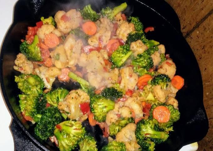 Cast Iron Chicken & Veggies