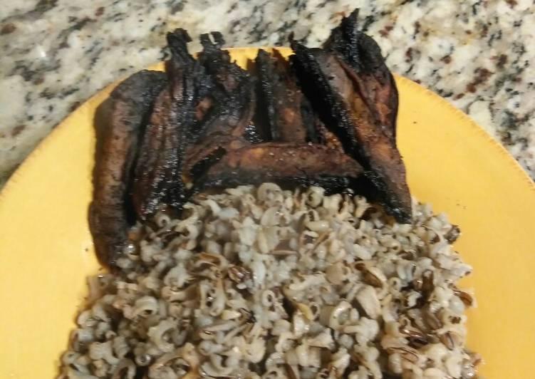 Bacon (mushroom) /Wild Rice