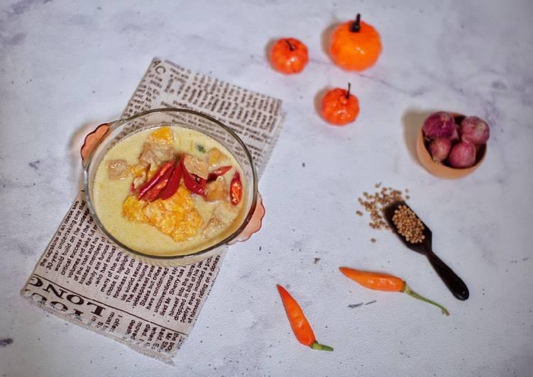 #120 Sayur Lodeh Labu Kuning