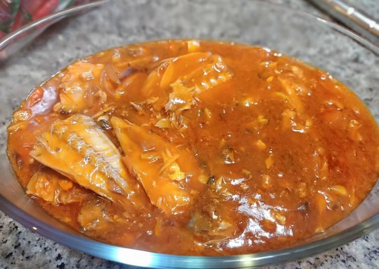 Resep sarden kaleng