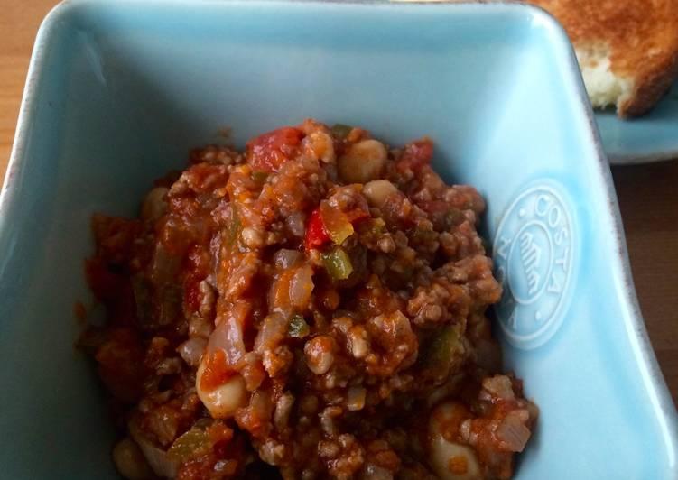 Recipe of Ultimate Chili con carne