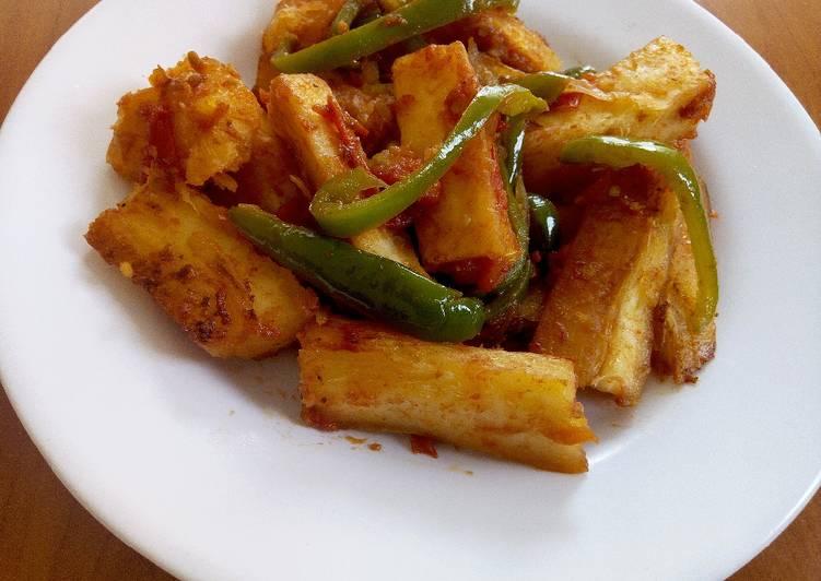 Recipe of Quick Fried Cassava