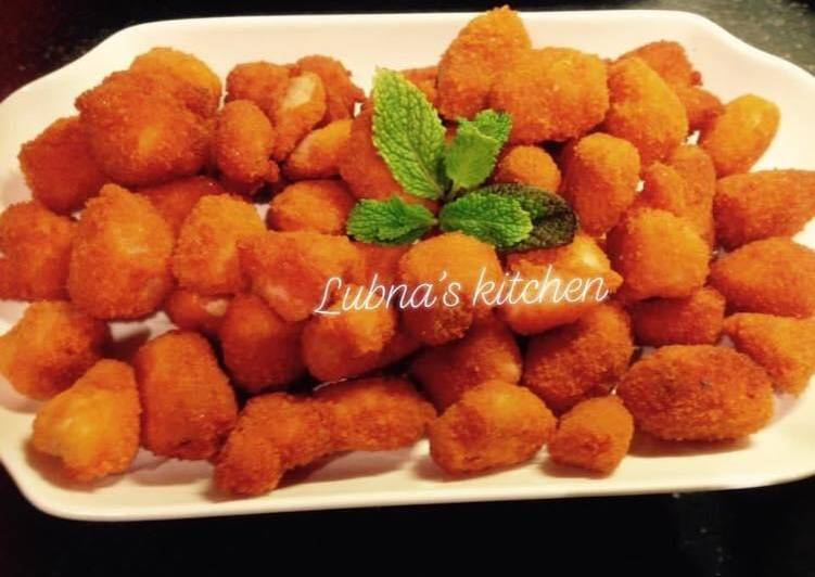 Homemade Chicken Nuggets: