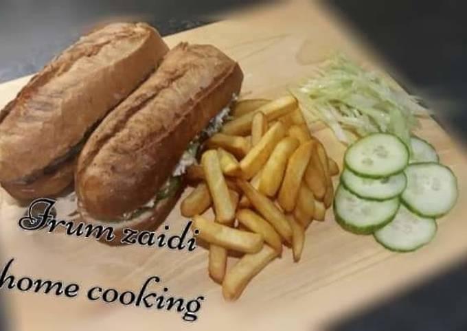 Easiest Way to Prepare Jamie Oliver 🥖🐟🌽Tuna and Sweetcorn Baguette🌽🐟🥖