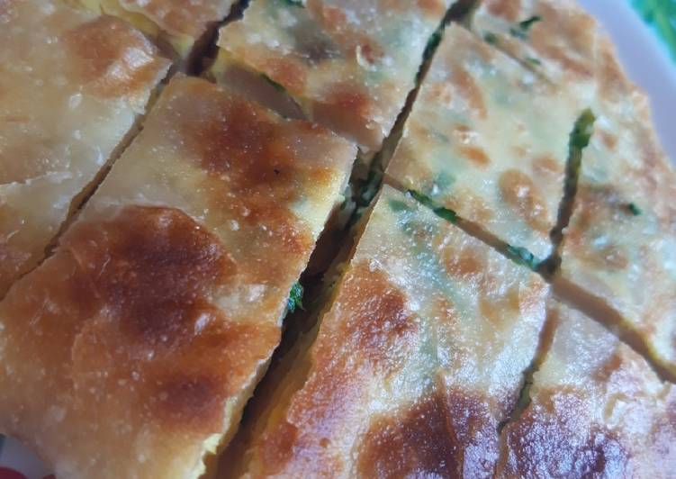 Martabak telor sosis handmade