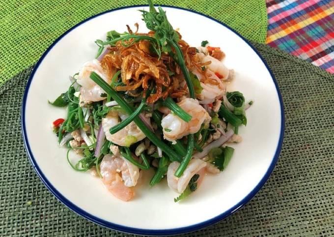 🧑🏽🍳🧑🏼🍳 Thai Salad Recipe in 10 minutes|#ThaiSalad •Thai Chili Salad Dressing|ThaiChef Food