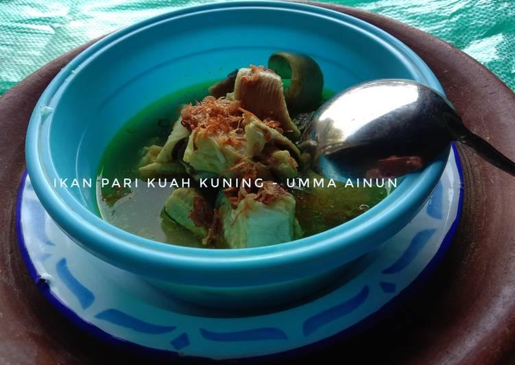 26) Ikan Pari Kuah Kuning (Ikan Zerro Waste)