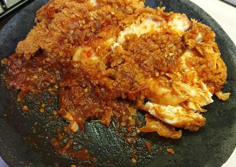 Ayam geprek kfc