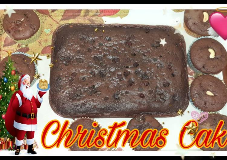 How to Cook Delicious Christmas cake
