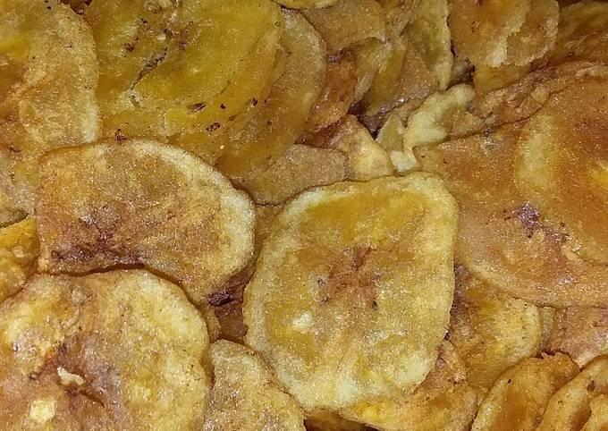 Keripik pisang manis
