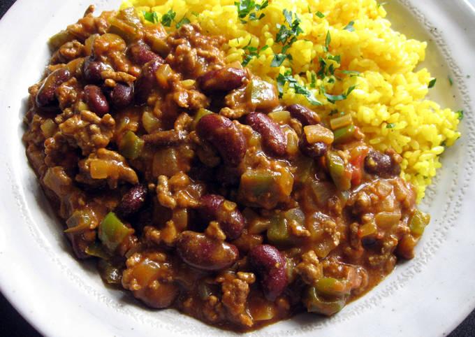 Curry Chilli Con Carne