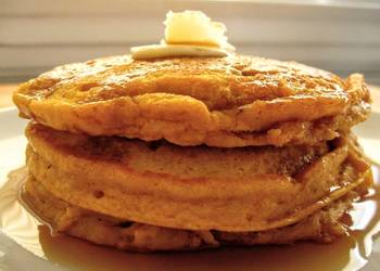 Easiest Way to Prepare Delicious Small Batch MeltInYourMouth Pumpkin Pancakes
