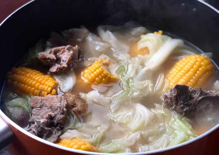 Step-by-Step Guide to Prepare Homemade Nilagang baboy