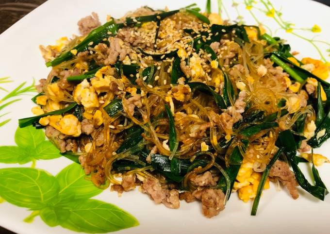 Fried Chinese Starch Noodle