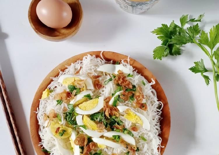 Resep Bihun goreng simple Paling Top
