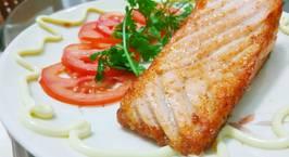 Hình ảnh món Fillet cá hồi chiên áp chảo