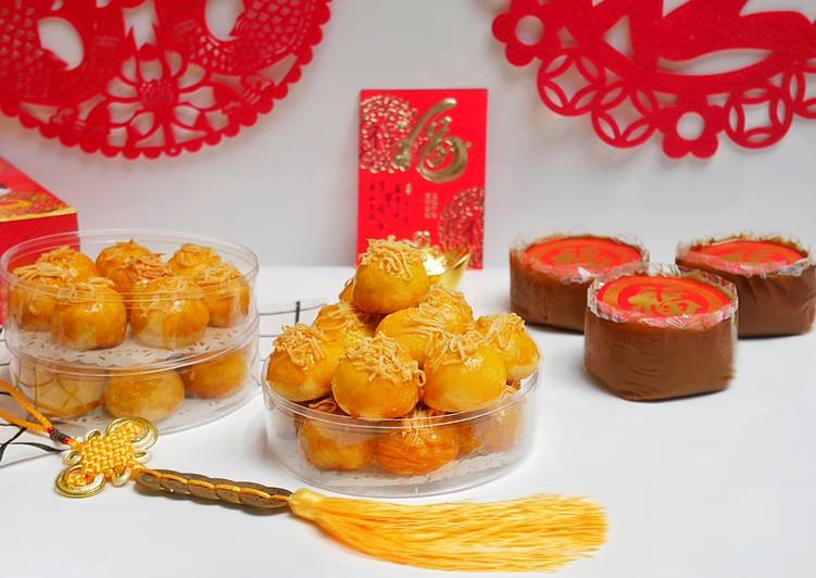 Nastar Keju Lumer / Pineapple Tart / Adonan Kastangel