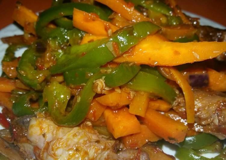 Recipe of Any-night-of-the-week Smoked Turkey Stir Fry