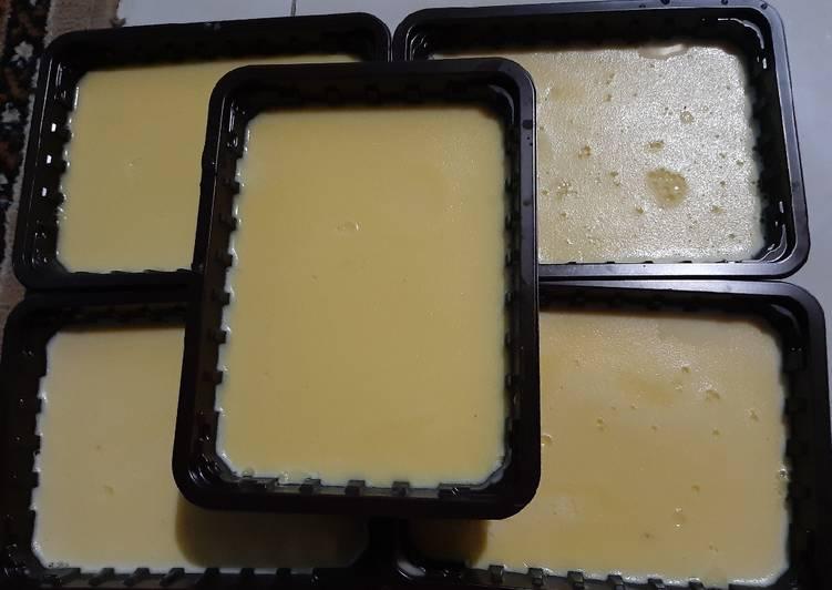 Puding butter super lembut