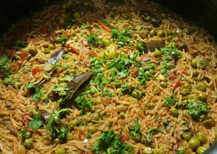 Step-by-Step Guide to Make Award-winning Vangi bhat (Brinjal masala rice)