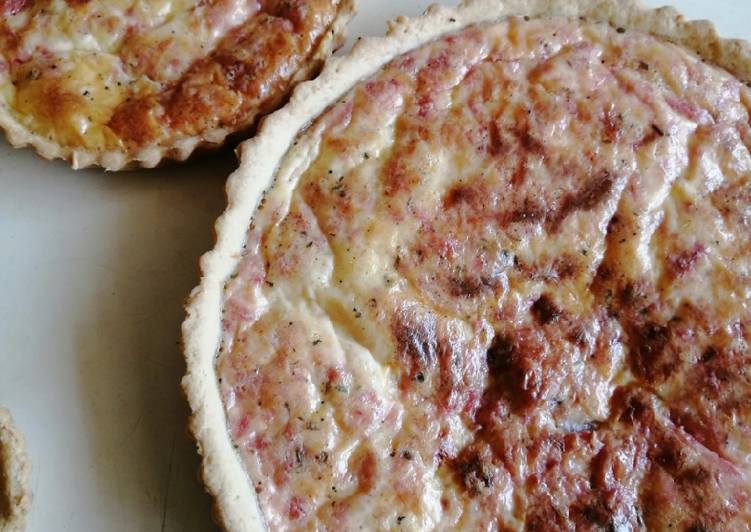 Quiche au sausisson