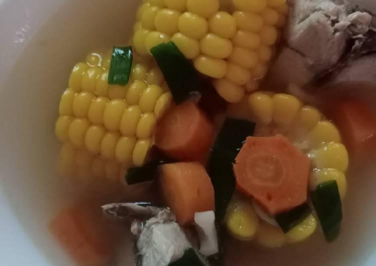Resep Sup jagung manis Yang Simple Endes