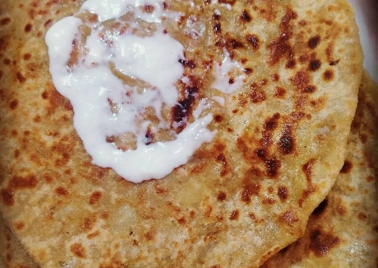Recipe of Quick Punjabi Aloo paratha🥔🥔