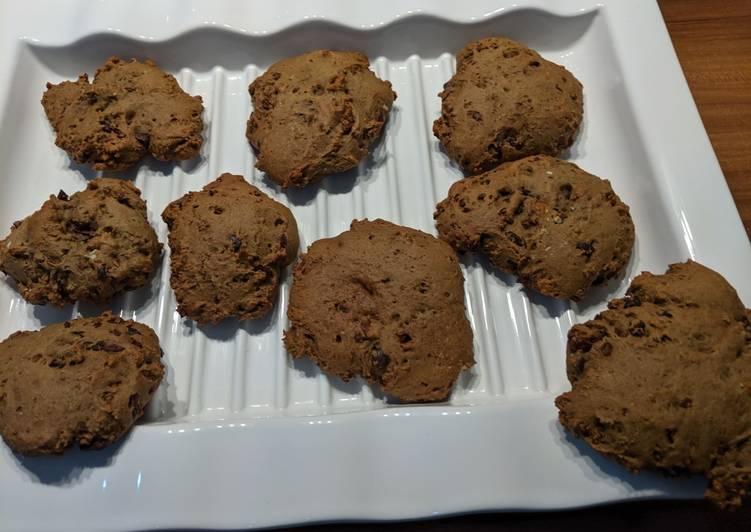 Vegane Schoko-Kekse